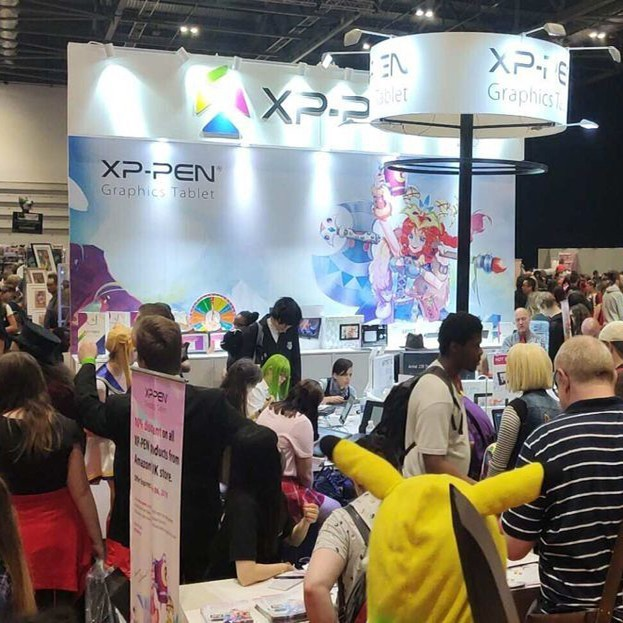 XP-Pen auf der MCM LONDON COMIC CON 2019