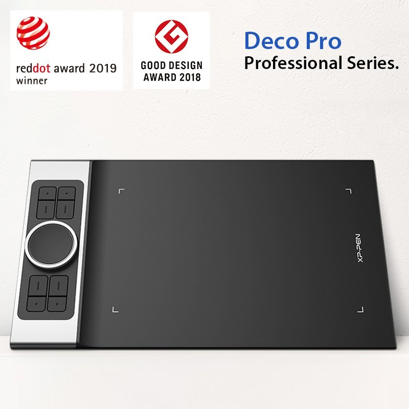 XP-Pen Deco Pro gewinnt den Red Dot Design Award 2019!